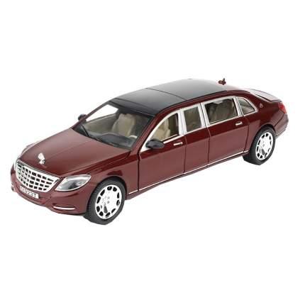 Машина инерционная Cars Представительский седан MAIB бордовый, 19 см
