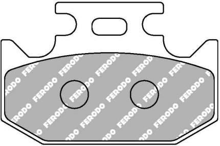 Тормозные колодки задние Ferodo FDB659SG для мотоциклов