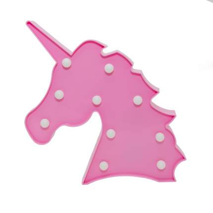 Ночник СТАРТ 13987 LED единорог розовый