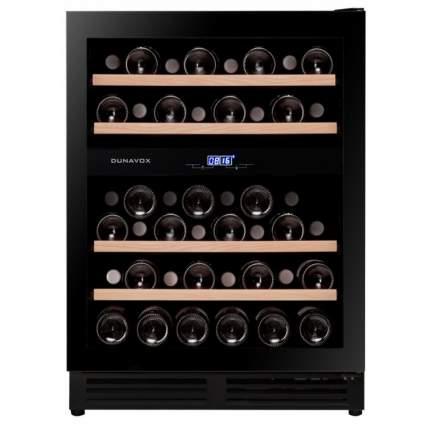 Встраиваемый винный шкаф Dunavox DAU-45.125DB.TO