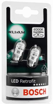 Лампа 12v 1w W5w Led Retrofit 4000k BOSCH арт. 1987301506