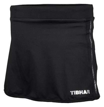 Спортивная юбка Tibhar Globe Lady, черная, XXS