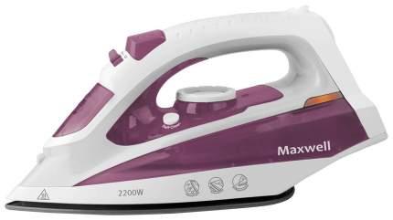 Утюг Maxwell MW-3058 White/Purple