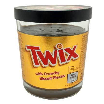 Паста Twix с хрустящими кусочками печенья 200 г