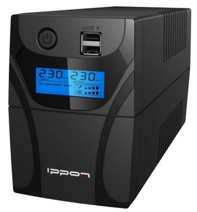 Источник бесперебойного питания Ippon Back Power Pro II Euro 850 Black