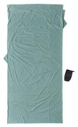 Вкладыш в спальник Cocoon Cotton Travelsheet XL светло-зеленый 240X114 см