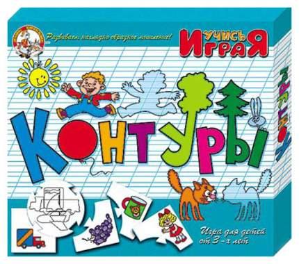 Семейная настольная игра Десятое Королевство Контуры 00048ДК