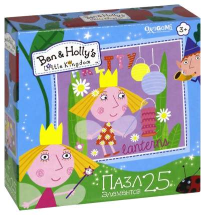 Пазл Origami Ben & Holly 25А Холли И Фонарики