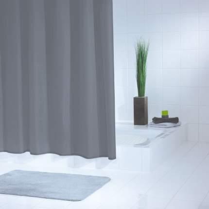 Штора для ванных комнат Standard серый/серебряный 180*200