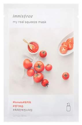 Маска для лица Innisfree It's Real Squeeze Mask - Tomato 20 г