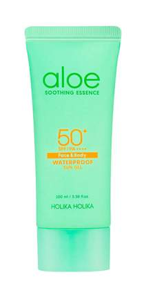Солнцезащитное средство Holika Holika Гель Aloe Waterproof Sun Gel 100 ml