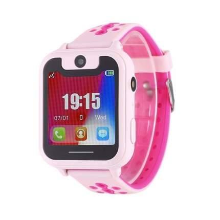 Детские смарт-часы Smart Baby Watch X Pink