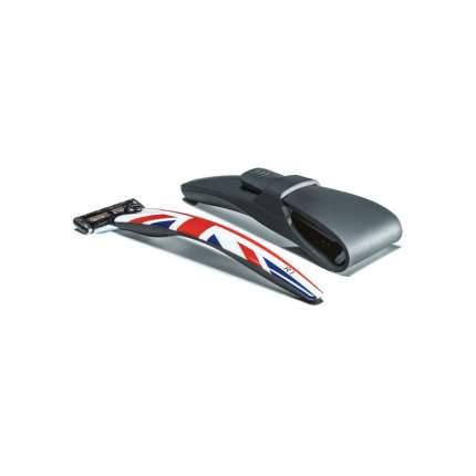 Подарочный набор Bolin Webb R1 бритва R1 Union Jack + дорожный чехол
