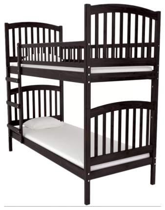 Двухъярусная кровать Nuovita Senso Due Mogano Махагон