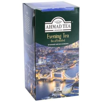 Чай черный Ahmad Tea evening tea decaffeinated без кофеина 25 пакетиков