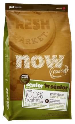 Сухой корм для собак NOW Fresh Senior Small, контроль веса, индейка, утка, овощи, 5,6кг