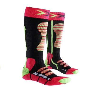 Гольфы детские X-Socks, цв. красный; зеленый р.24-26