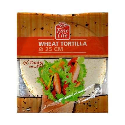 Тортилья Fine Life пшеничная 25 см 284 г