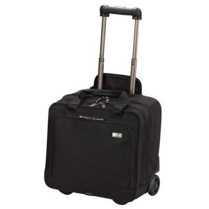 Дорожная сумка кожаная Victorinox Architecture 3.0 San Marco черная 37 x 21 x 35