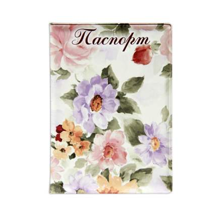 Обложка для паспорта «Цветы пастель» (038005обл006)