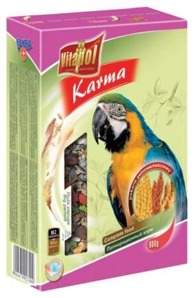 Основной корм Vitapol для попугаев 900 г, 1 шт