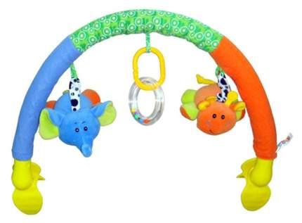 Дуга с игрушками на коляску Elefantino Веселая прогулка