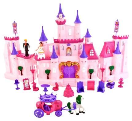 Замок для кукол Shantou Gepai My Dreams с мебелью и аксессуарами (свет, звук)