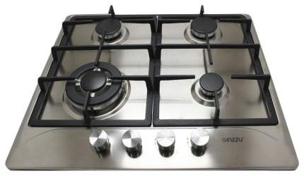 Встраиваемая варочная панель газовая Ginzzu HCG-416 Silver