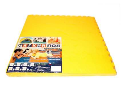 Мягкий пол универсальный ECO COVER 60x60 см желтый