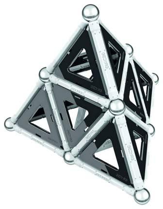 Конструктор магнитный Geomag Black and White 68 элементов 012