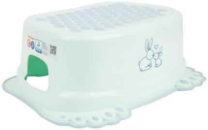 Подставка под детскую ванночку Tega Baby Кролики антискользящая белый