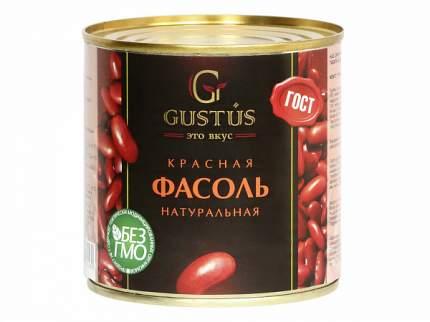 Фасоль Gustus красная натуральная 400 г