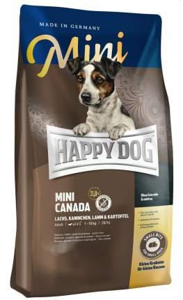 Сухой корм для собак Happy Dog Supreme Mini Canada, для мелких пород, рыба, 0,3кг