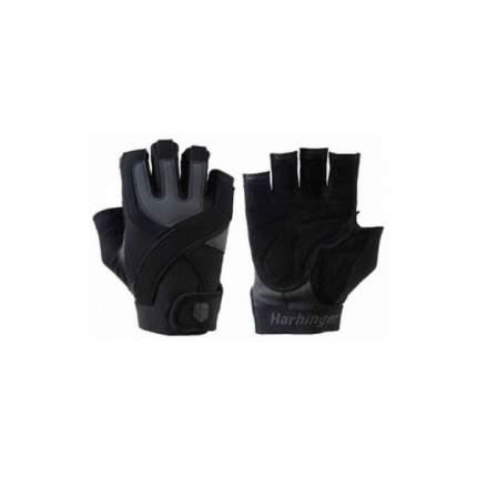 Перчатки для фитнеса Harbinger Training Grip Non Wrist Wrap 1260 черно-серые M