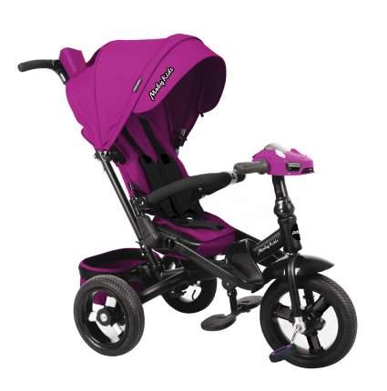 Велосипед трехколесный Moby Kids Leader 360° AIR Car ягодно-пурпурный 641212