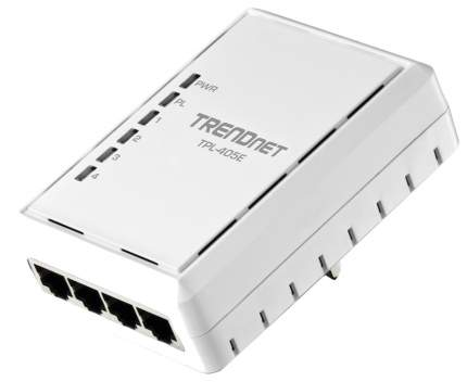 Сетевой адаптер powerline TRENDnet TPL-405E