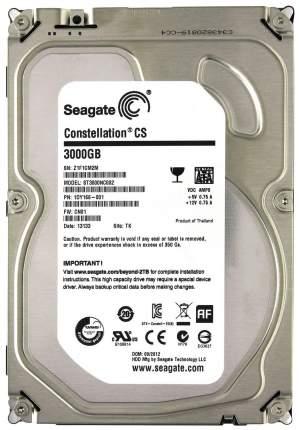 Внутренний жесткий диск Seagate Terascale 3TB (ST3000NC002)