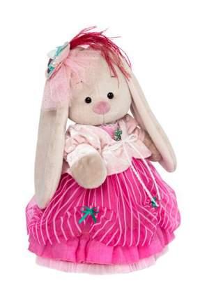 Мягкая игрушка Budi Basa Зайка Ми барышня в карамельно-розовом 25 см