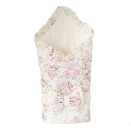 Плед-конверт Евгения Весна Розовый букет