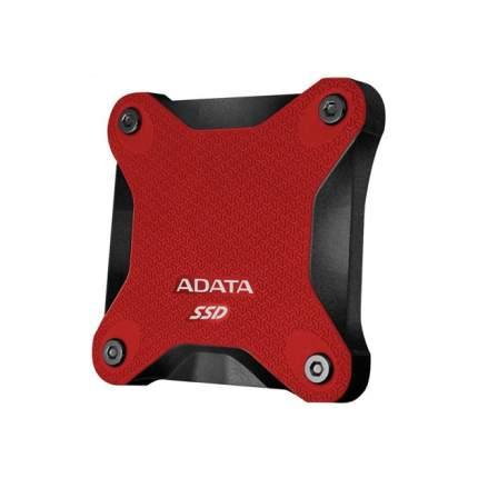 Внешний SSD накопитель ADATA SD600 256GB Red (ASD600-256GU31-CRD)