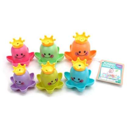 НАША ИГРУШКА Набор игрушек для купания, 6 штук 6635