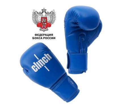 Боксерские перчатки Clinch Olimp C111 синие 12 унций
