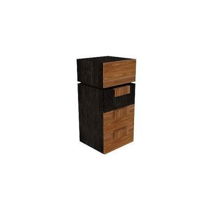 Тумба прикроватная приставная Глазов мебель Хайпер 1 GLZ_25272 40,8x38,9x88,7 см, венге