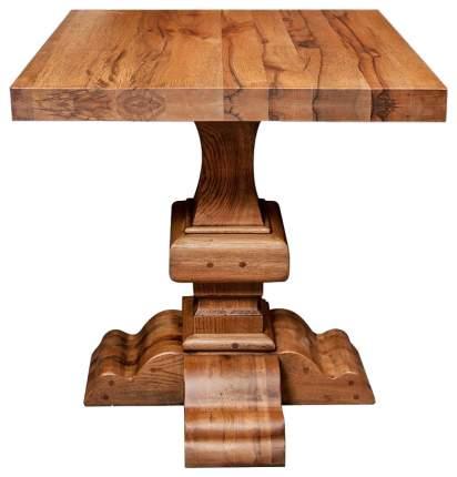 Кухонный стол ROOMERS 78x80х80 см, коричневый