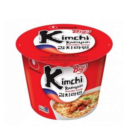 Лапша быстрого приготовления Кимчи Рамен Nongshim чашка 112 г