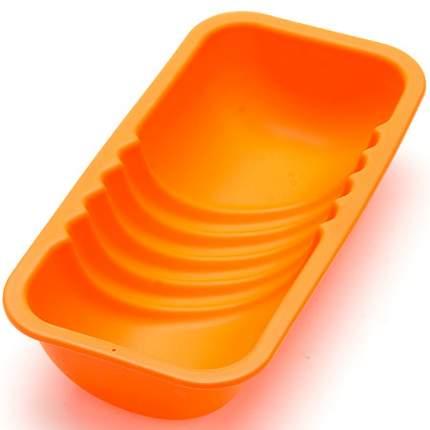 Форма для выпечки Mayer&Boch 850 мл, силикон, оранжевая, 28067-1
