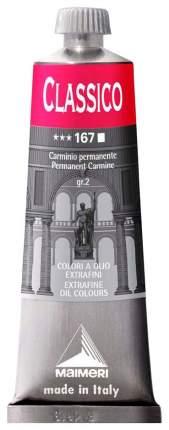 Масляная краска Maimeri Classico кармин ализариновый 60 мл