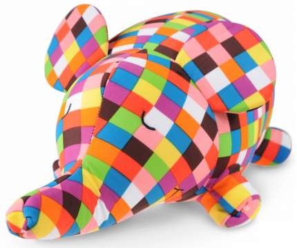 Игрушка-подушка Gekoko Клетчатый слон A015