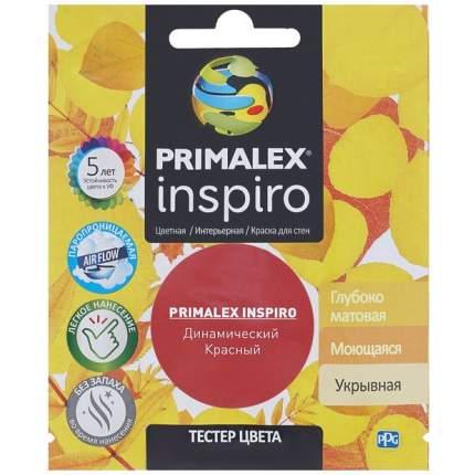 Краска для внутренних работ Primalex Inspiro Тестер 40мл Динам. Красный, PMX-I8