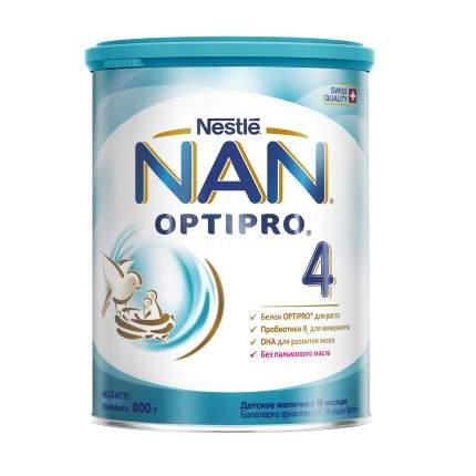 Молочная смесь Nestle NAN 4 Optipro 800 г